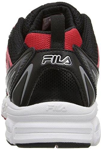 Fila Lizenzlaufschuh Black/Fila Red/White