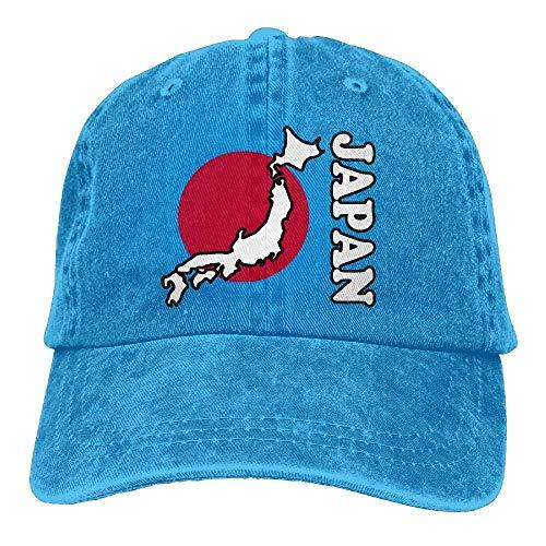 Cardinals Womens Hüte (Men's/Women's Adjustable Cotton Denim Baseball Caps Japan Flag Map Dad Hut Unisex24)