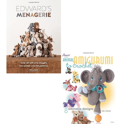 Animal Amigurumi to Crochet, Edward's Menagerie 2 Books Set Pack