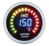 Raid HP 660502 Zusatzinstrument Wassertemperaturanzeige Serie Night Flight Digital Blue