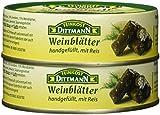 Feinkost Dittmann Gefüllte Weinblätter mit Reis, 6er Pack (6 x 200 g)