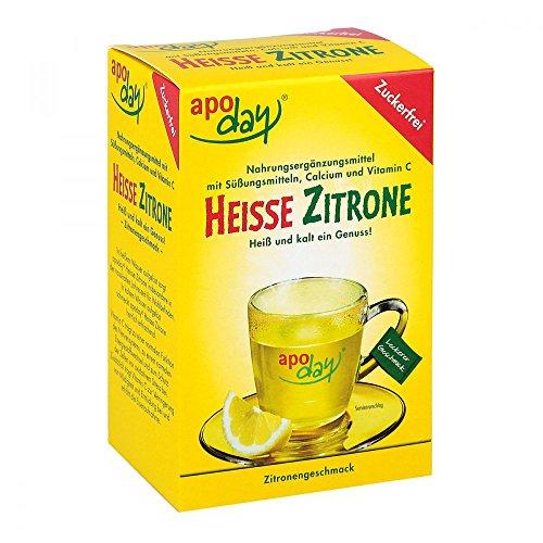 Apoday Heisse Zitrone zuckerfrei Beutel, 10 St.