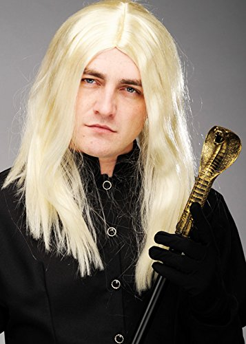 (Magic Box Int. Lange Blonde Lucius Malfoy Perücke)