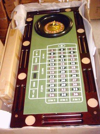 Kunibert Pokerspieltischbar - Poker/Roulette/Würfel/Blackjack/Theke - 5