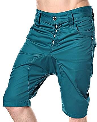 LAGO humör short pour homme Blau Und Grün xs