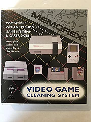 Nintendo NES, SNES and Game Boy Video Game Cleaning