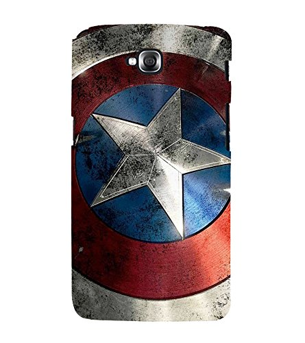 printtech Superhero Shield Star Back Case Cover for LG GPro Lite / LG G Pro Lite Dual D686  available at amazon for Rs.339