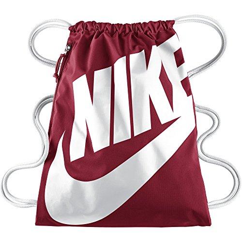 Nike Unisex Turnbeutel Heritage Gym Red/White