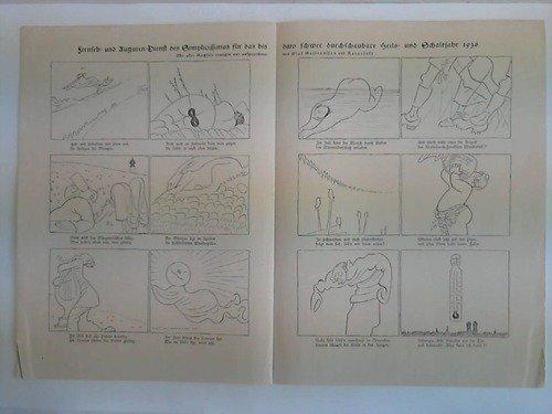 Fernseh- Auguren-Dienst des Simplicissimus für das bis dato schwer durchschaubare Heils- und Schaltjahr 1936