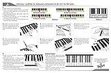 Klavier + Keyboard Noten-Aufkleber für 49   61   76   88 Tasten + Gratis Ebook   Premium Piano Sticker Komplettsatz für schwarze + weisse Tasten   C-D-E-F-G-A-H   einfache Anleitung auf Deutsch - 7
