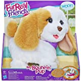 Hasbro A8009E24 juguete de peluche - juguetes de peluche (Perro de juguete, Marrón, Color blanco)
