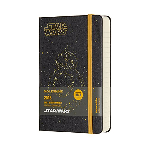 Agenda 2018 Star Wars Journalier Poche Rigide