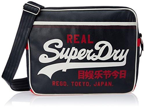 Superdry - Bolso mochila para mujer, color Azul, talla Taille unique