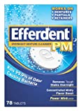 Efferdent PM Overnight Denture Cleanser ...