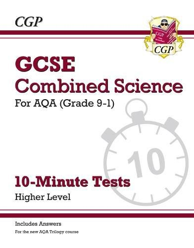 New Grade 9-1 GCSE Combined Science: AQA 10-Minute Tests (with answers) - Higher (CGP GCSE Combined Science 9-1 Revision) thumbnail
