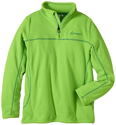 Chiemsee Mädchen Basic Fleece Pullover, Jasmin Green, 128, 3070920