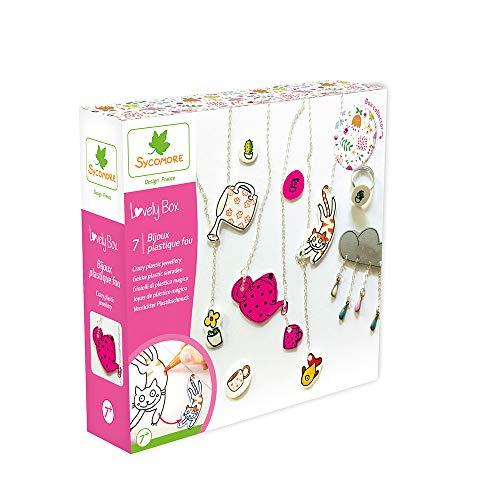Darpeje Joyas En Plastico Mágico de Lovely Box-S-Sycomore Faujas (CRE1033), Multicolor (1)
