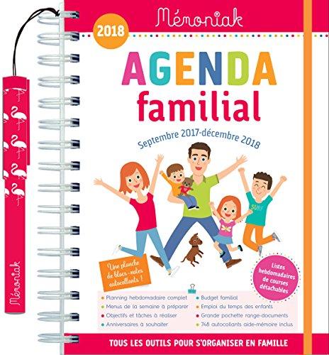 Agenda familial Mmoniak 2017-2018