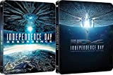 Independence Day Limited Ed 20th Anniversary Remastered bluray Steelbook +Independence Day 22016 Resurgence 3D Includes 2D Version - Uk Exclusive Limited Edition Steelbook Blu-ray Region Free
