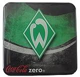 Coca Cola Zero - Fußballvereine - Werder Bremen - Kühlschrankmagnet 6 x 6 cm