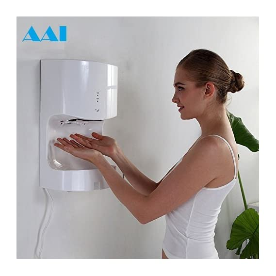 AAI Luxury Jumbo Jet Automatic Hand Dryer with 2 Waves HOT & Cold Feature (Prime PAN India)