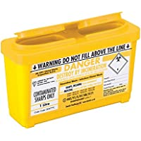 Sharpsguard Sharps Bin 1 Liter - Gelb preisvergleich bei billige-tabletten.eu