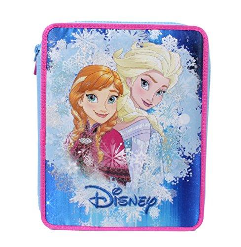 Seven Frozen 3B5011604-512 Astuccio, Poliestere, Multicolore - 12 Di Plastica Trasparente Righello