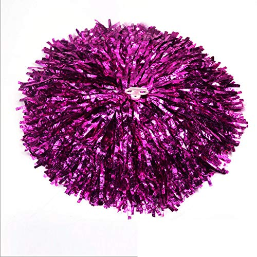Peanutaoc Cheer Dance Sport Supplies Wettkampf Cheerleading Pom Poms Flower Ball Beleuchtung Match Fancy Pom Poms (Flower Pom Pom Dekorationen)