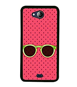Sunglasses 2D Hard Polycarbonate Designer Back Case Cover for Micromax Canvas Play Q355