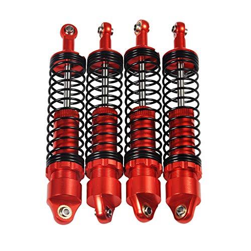 SM SunniMix 4 Stücke 110mm Stoßdämpfer mit Federn für 1/10 Axial SCX10 D90 RC Cars