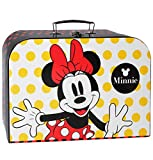 Kinderkoffer - Groß - Minnie Mouse 34 cm / Teenie Puppenkoffer Koffer Kinder Mädchen - Playhouse