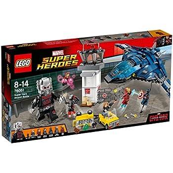 Marvel Jeu De 76051 Construction Super Heroes Airport Lego Battle Hero wON08PkZnX
