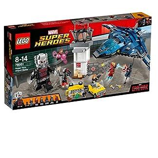 LEGO Super Heroes – Set Batalla de los superhéroes en el Aeropuerto, Multicolor (76051)