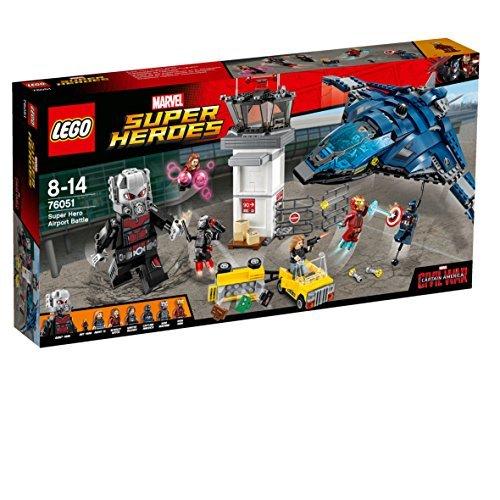 LEGO Marvel Super Heroes 76051 - Superhelden-Einsatz am Flughafen
