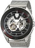 Ferrari 0830349 Gran Premio - Reloj analógico de pulsera para hombre (cuarzo, correa de acero inoxidable)