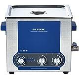GT SONIC P13 - 13L Limpiador Ultrasónico para limpiar piezas metálicos y muchos más (Potencia ajustable, 40 KHz, Consumo de energía: 90-300W)