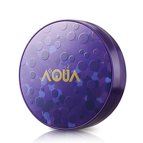 AQUA+ Fondotinta Air Cushion idratante Aurora con acido ialuronico attivo (crema CC)