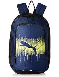 Puma 30 Ltrs New Navy-Sulphur Spring Laptop Bag (7544802)