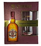 Chivas Regal Scotch 12 Years Old in GB mit Longdrinkglas 40% 0,7 l