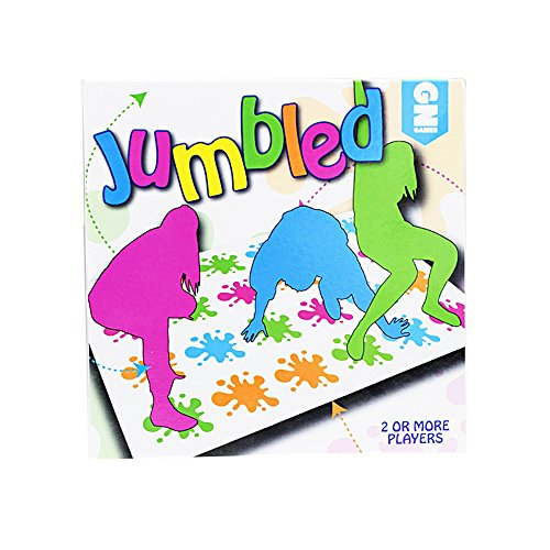 Delmkin Kinderspiel twister game Funny Party Spielzeug Familienspiel