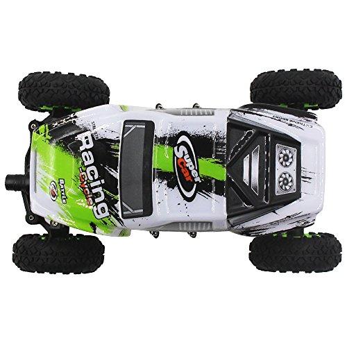 1:24 Skala RC Rennwagen 2.4G Hochgeschwindigkeits-4WD Elektrischer Energie-Buggy weg vom Straßen-Auto - 6