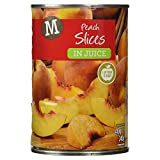Morrisons Peach Slices in Juice, 410g