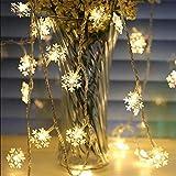 The Purple Tree Decorative Snowflake String LED Lights for Diwali Christmas Wedding - 3 Meter (1 pc) Diwali Lights, Decorative Lights, Diwali Lights for Window, Festive Lights, led Lights