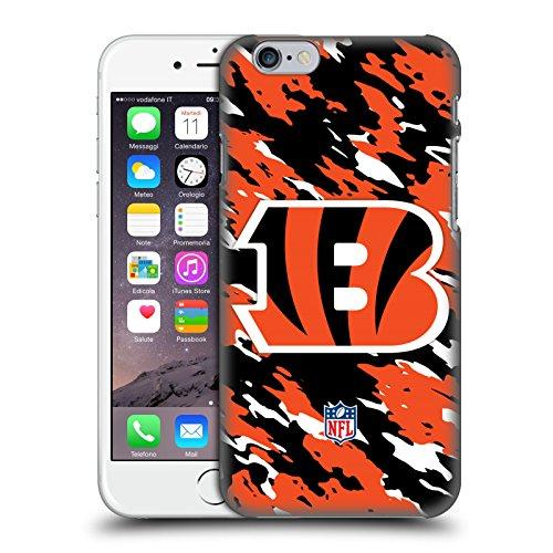 Offizielle NFL Fussball Cincinnati Bengals Logo Ruckseite Hülle für Apple iPhone 6 / 6s Camou