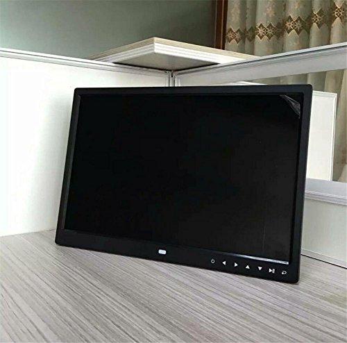 FGDJTYYJ 15-Zoll-Widescreen-High-Definition Multi-Funktions-digitaler Bilderrahmen mit Touch-Taste elektronisches Album Werbung Maschine -