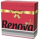Renova serviettes de papier gold rouge–40serviettes–[Pack de 6]