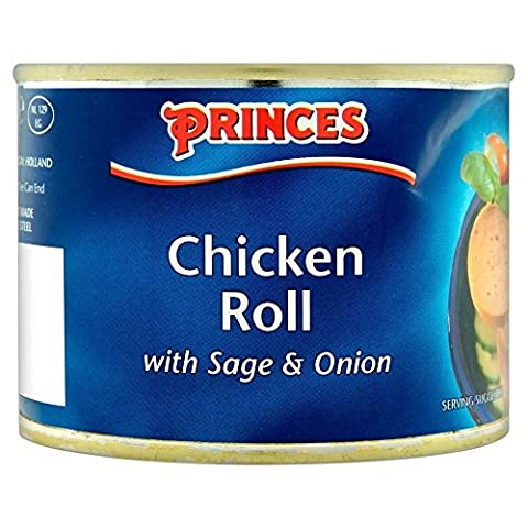 Princes Chicken Roll with Sage & Onion (200g) - Pack of 2