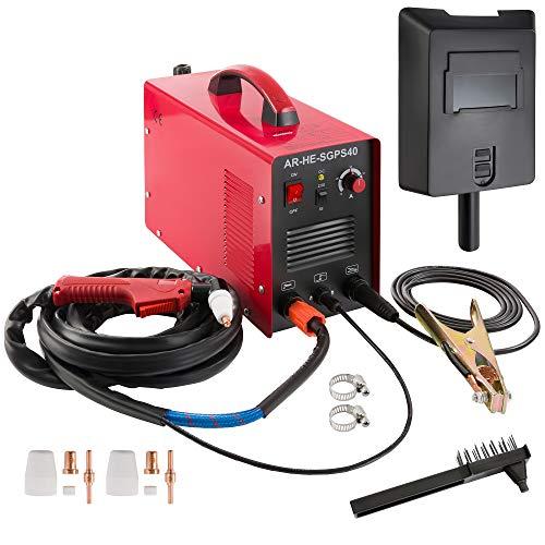 Arebos Plasmaschneider Cut40 / bis 12 mm Schnitttiefe / 230 V / 20-40 A/kein Starkstromanschluss nötig