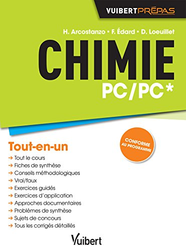 Chimie PC/PC* - Cours, synthèse & e...