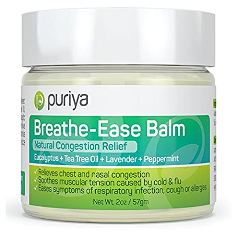 Natural Chest and Nasal Congestion Relief. Soothes Sore Throat, Dry
